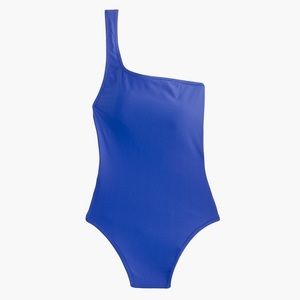 J. Crew One Shoulder One-piece Swimsuit Size 8
